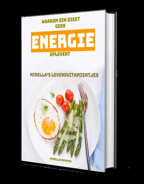 Waarom een dieet geen energie oplevert