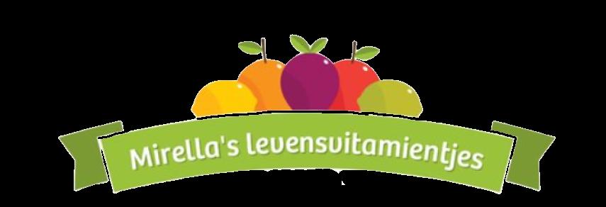 Mirellas levensvitamientjes -logo